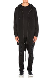 Alexander Wang Hooded Parka In Black