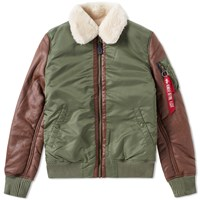 Alpha Industries B3 M Jacket Green