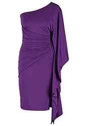 Coutureone Tosca Cocktail Dress Party Dress Lila Purple