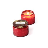Voluspa Japonica Limited Edition Glass Candle Goji And Tarrocco Orange Small