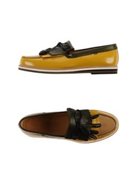 Sergio Rossi Moccasins Yellow