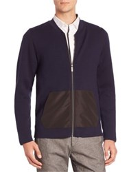 Strellson Eric Virgin Wool Blend Jacket Navy