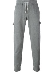 Eleventy Side Pocket Sweatpants Grey