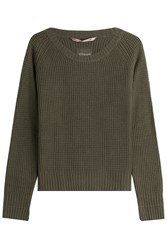 81 Hours By Dear Cashmere Merino Wool Pullover With Green