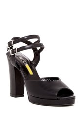 Manas Design Double Strap Sandal Black