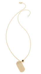 Marc By Marc Jacobs Long Pendant Necklace Oro