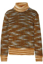 Missoni Knitted Turtleneck Sweater Brown