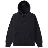 Reigning Champ Side Zip Hoody Black