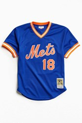 Mitchell And Ness New York Mets Jersey Blue