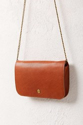 Urban Outfitters Cross Hatch Pouch Cardholder Brown