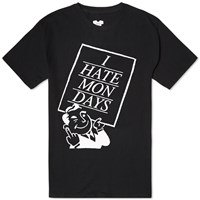 Sasquatchfabrix. I Hate Mondays Tee Black
