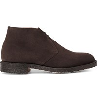 Church's Ryder Suede Desert Boots Chocolate