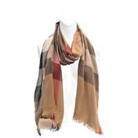 Burberry Sheer Mega Chk Scarf