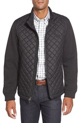 Bugatchi Quilted Jacket Black