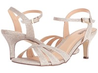 Paradox London Pink Shelby Champagne Women's Sandals Gold