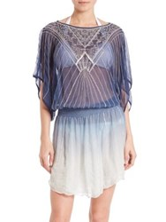 Parker Sunset Beaded Coverup Marina