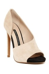 French Connection Velora D'orsay Pump White