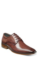 Stacy Adams Men's Kallan Plain Toe Derby Chestnut