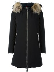 Moncler Long Padded Jacket Black