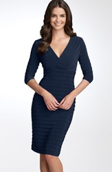 Women's Adrianna Papell Pleated Jersey Sheath Dress