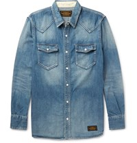 Neighborhood Denim Wetern Hirt Indigo