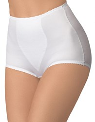 Bali Plus Light Panel Briefs Two Pack White
