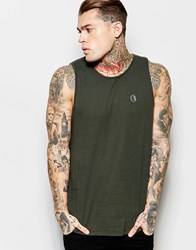 Religion Vest With Split Back Hem Grey