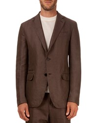 Berluti Soft Two Button Jacket Brown