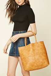 Forever 21 Emperia Faux Leather Tote