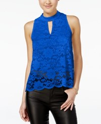 Material Girl Lace Split Back Tank Top Only At Macy's Surf The Web