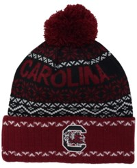 Top Of The World South Carolina Gamecocks Sprinkle Knit Hat Maroon Black White
