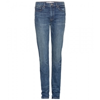 Marc By Marc Jacobs Drainpipe Straight Leg Jeans Space Blue