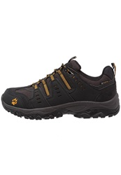 Jack Wolfskin Mtn Storm Texapore Hiking Shoes Burly Yellow Black