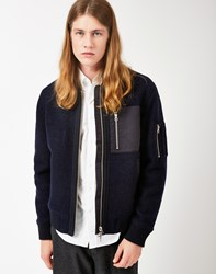 Gant Rugger Woolly Bomber Navy