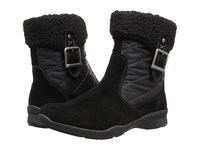 Earth Pinnacle Black Suede Women's Pull On Boots