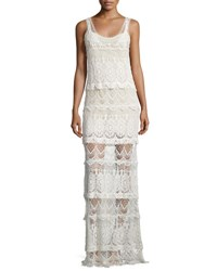Haute Hippie The Lace Layers Maxi Dress Vintage