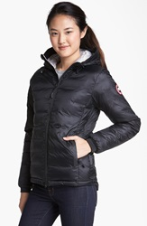 Canada Goose 'Camp' Hooded Down Jacket Black