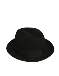Asos Fedora Hat Black