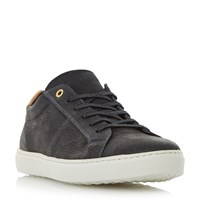 Dune Twister Lace Cupsole Trainers Black
