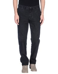 Trussardi Jeans Denim Denim Trousers Men Black