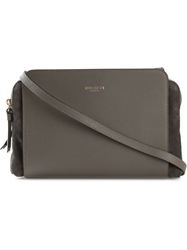 Nina Ricci Panelled Cross Body Bag Brown