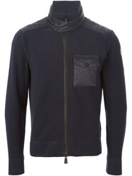 Moncler Grenoble Zipped Sport Jacket Blue