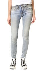 R 13 Alison Skinny Jeans Lincoln Clean