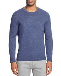Bloomingdale's The Men's Store At Cashmere Crewneck Sweater New Dusty Light Blue