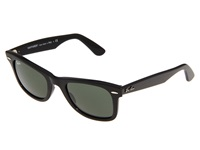 Ray Ban Rb2140 Original Wayfarer 50Mm Black G 15Xlt Lens Plastic Frame Fashion Sunglasses