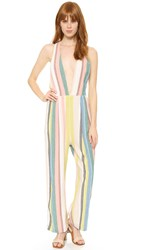 Free People My Kind Of Woman Jumpsuit Garden Combo