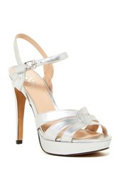 Vince Camuto Jillian Platform Dress Sandal Metallic