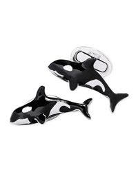 Orca Cuff Links Jan Leslie