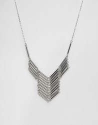 Pieces Pellie Necklace Silver