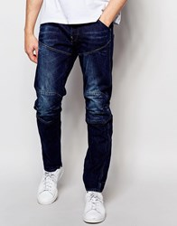 G Star G Star 5620 3D Tapered Jeans Dk Aged Blue